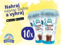 Vyhrajte nádielku ľadovej kávy Vienna Ice Coffee