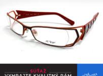 Vyhrajte okuliarový rám z limitovanej edície
