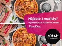 Súťaž s Domino's Pizza o 2 stredné pizze
