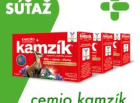 Súťaž o 3 balenia kĺbového prípravku Cemio Kamzík