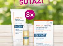 Súťaž o 3 balíčky proti vypadávaniu vlasov značky Ducray