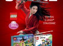 Súťaž o 5x LEGO Mulan