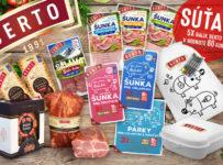 Súťaž o 5x balík produktov BERTO v celkovej hodnote 60€