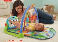 Súťaž o Hraciu dečku s pianom od Fisher-Price