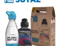 Súťaž o balíček SodaStream so sirupom s príchuťou Energy drink a športovou fľaškou My Only Bottle