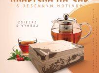 Súťaž o čajovú krabičku s kvalitným čajíkom