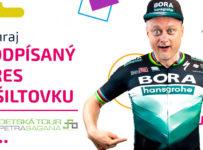 Súťaž o cyklistický dres a šiltovku podpísané Petrom Saganom