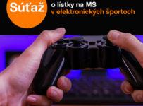 Súťaž o lístky na Majstrovská Slovenska v elektronických športoch 2020