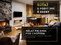 Súťaž o luxusný pobyt v apartmáne v Jasnej s výhľadom na Chopok