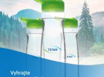 Súťaž o TENA praktickú fľašu na vodu