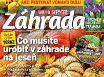 Súťaž o predplatné časopisu Záhrada a tričko s logom Záhrada.sk