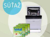 Súťaž o umývačku riadu alebo 10x balíček tabliet do umývačky riadu Somat ProNature