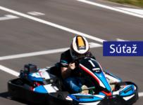 Vyhrajte vstup do Slovak Karting Center