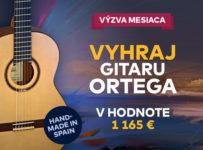 Súťaž o gitaru Ortega M5CS v hodnote 1165 €
