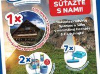 Nakúpte produkty Spontex a Söke v minimálnej hodnote 5€ a vyhrajte
