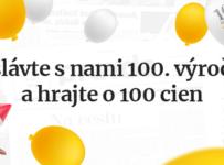Oslávte s Pravdou 100. výročie ahrajte o 100 cien