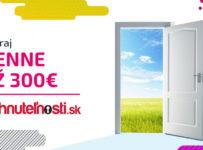 Otvor tie správne dvere a vyhraj až 300€