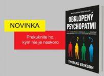 Súťaž o 2 knihy Obklopený psychopatmi