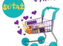 Súťaž o Casdon nákupný vozík
