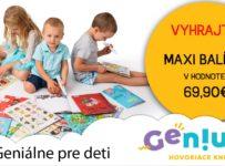 Súťaž o MAXI balíček hovoriacich kníh