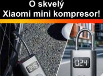 Súťaž o Xiaomi mini kompresor