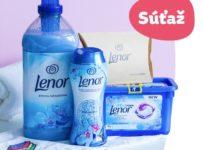 Súťaž o balíček Lenor od Teta drogérie