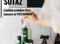 Súťaž o balíček produktov Elixir Jeunesse od Yves Rocher