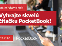 Súťaž o čítačku PocketBook Touch Lux 5