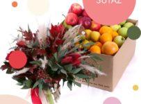 Súťaž o debničku plnú ovocia a krásnu jesennú kyticu