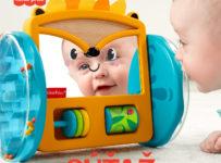 Súťaž o jazdiaceho ježka so zrkadielkom od Fisher-Price