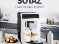 Súťaž o kávovar Krups EA891110 Evidence