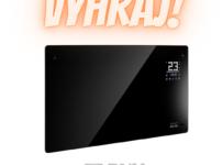 Súťaž o nový ohrievač v modernom čiernom dizajne v hodnote 159€