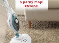 Súťaž o parný mop Ariete 10V1