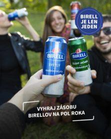 Súťaž o pitný režim od Birellu na pol roka