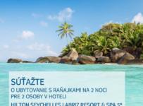 Súťaž o pobyt na Seychelách