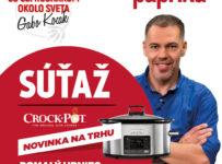 Súťaž o pomalý hrniec s odloženým štartom varenia Crock-Pot