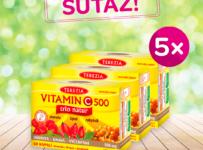Súťaž o produkty Terezia Vitamín C