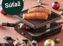 Súťaž o raclette gril Foli od Möbelix