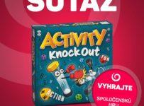 Súťaž o spoločenskú hru AKTIVITY KNOCK OUT