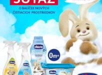 Súťaž zo značkou Chicco o balíček čistiacich prostriedkov