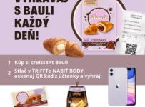 Vyhraj nový iPhone, Pandoro Baileys či croissanty