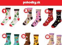 Vyhrajte 2 páry ponožiek
