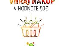 Vyhrajte nákup domov z e-shopu i-potraviny.sk v hodnote 50€