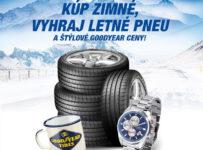 Kup zimné,vyhraj letné pneu a štýlové ceny Goodyear