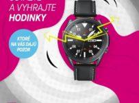 Súťaž o prémiové hodinky Samsung Galaxy Watch3