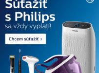 Zaregistrujte sa a vyhrajte produkty Philips