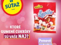 Súťaž 10 balení vašich NAJ gumených cukríkov od Lidl