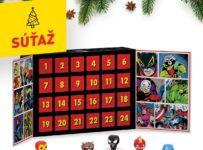 Súťaž o 10x špeciálny adventný kalendár Marvel