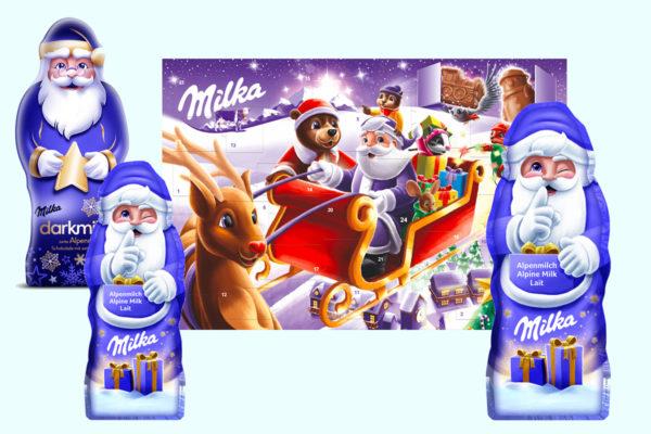 Súťaž o 3 Mikulášske balíčky Milka
