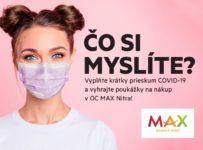 Súťaž o 400x 5 Eurová poukážka do OC Max Nitra